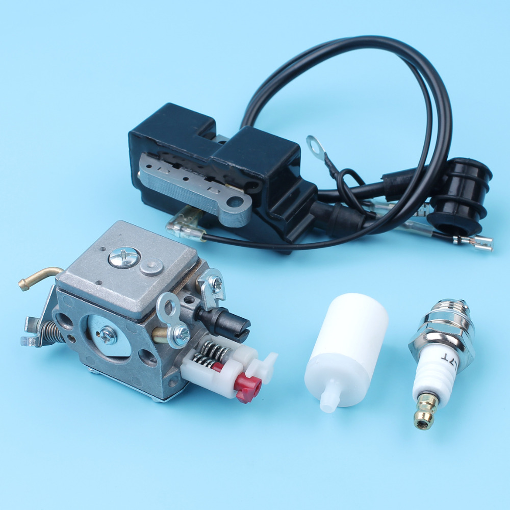 Carburetor Ignition Coil Kit For Husqvarna 340 345 346 350 353 E EPA  Jonsered CS 2141