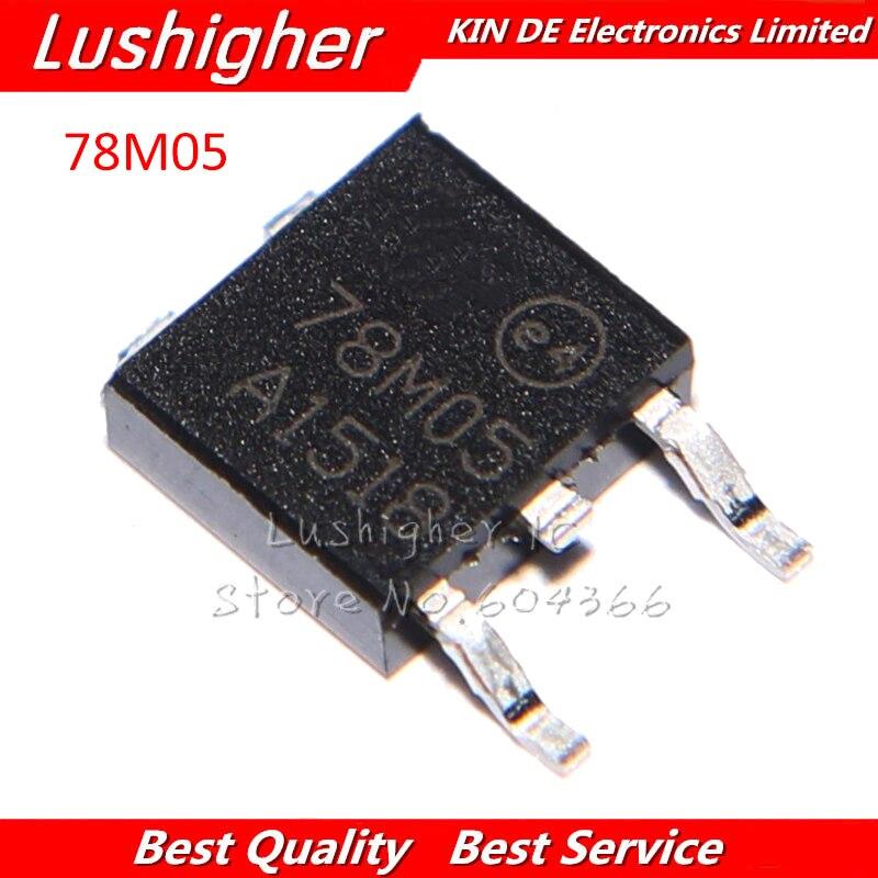 10pcs 78M05 L78M05CDT TO252 L78M05 TO-252 New Original