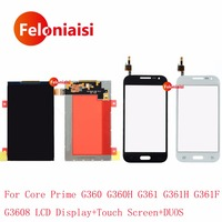 High Quality 4 5 For Samsung Galaxy Core Prime G360 G360H G361 G361H G361F G3608 LCD