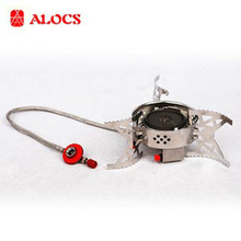 Alocs Outdoor 3200W Butane Gas Stove with Ignition Set Camping Equipment Cookware Portable Camp Cooker CS-G04