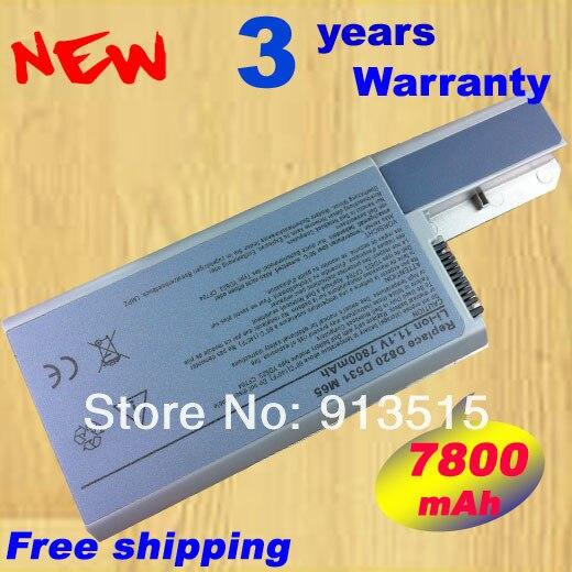 9 cell batteria per dell latitude d820 d830 m65 lapto df192 d531 d531n cf623 312-0393 m4300 spedizione gratuita!