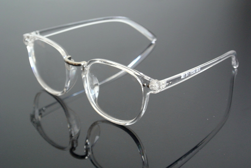 125-250 300 Attractive Appearance Vintage Round Silver 50mm Spring Hinges Harry Potter Metal Eyeglass Frames Full Rim Myopia Glasses