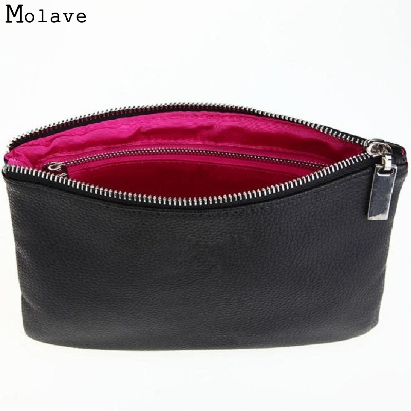 Naivety Cosmetic Bag New PU Leather Portable Multifunction Toiletry Organizer Zipper Makeup Pouch Cosmetische zak 11S60921