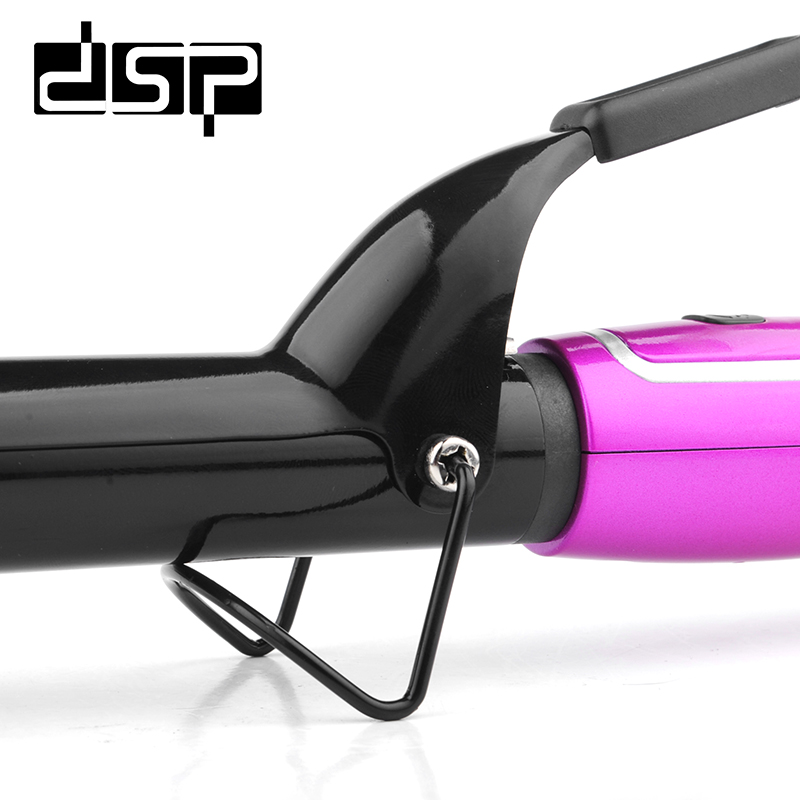 DSP Professional Hair Curler LCD Display Ceramic Curling Iron Adjustable Temperature Roller Styling Hair Curling Irons E 20009 in Curling Irons from Home Appliances