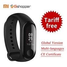 2018 Mondial Version Nouveau Origine Xiao mi mi Bande 3 Smart Bracelet Noir 0.78 pouce OLED Instantanée Message Temps D'appel forecate(China)