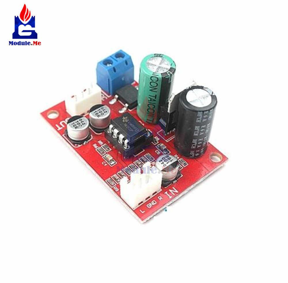 Rectifier Bridge NE5532 Audio OP AMP Microphone Preamps Pre-Amplifier Pre  Amplifier Board IC Socket DIY KIT DC 9-24V AC 8-16V