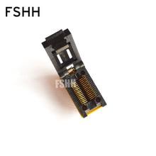 SOP28-DIP28 программист адаптер SOIC28/SO28/FP28 адаптер/гнездо IC/ИК тест гнездо (флип испытательное сиденье)
