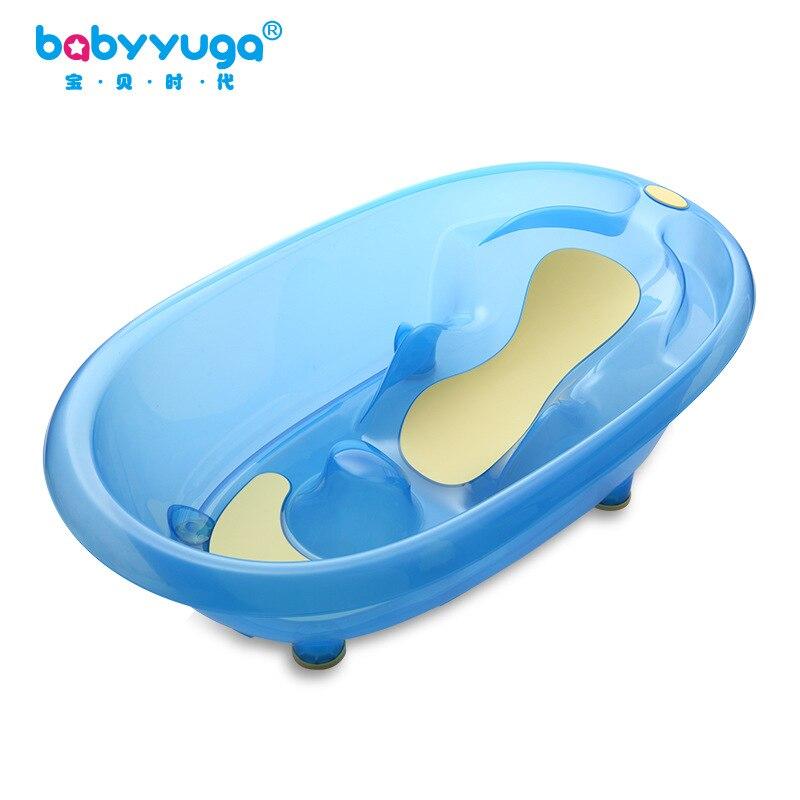Новорожденных Ванна сидя лежа