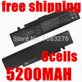 5200MAH notebook battery for Samsung AA-PB9NC5B AA-PB9NC6B AA-PB9NC6W SF410-A02 RC410 RC510 RC710 RF411 RF711 R478