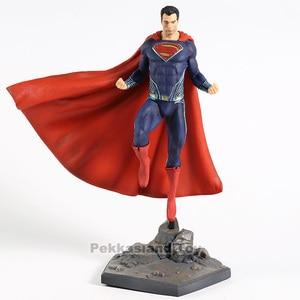 Image 3 - スーパーマンジャスティスリーグアクションモデルおもちゃ鉄スタジオ PVC グッズフィギュア像おもちゃ