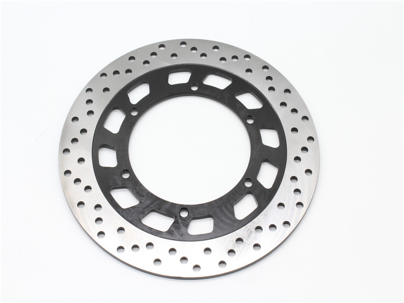 ФОТО Motorcycle Front Left Rotor Brake Disc For Y A M A H A XVZ12 T, TD Venture Royal 1984-1987 TDR125 1993-2004 97 98 99 00 01 02 03