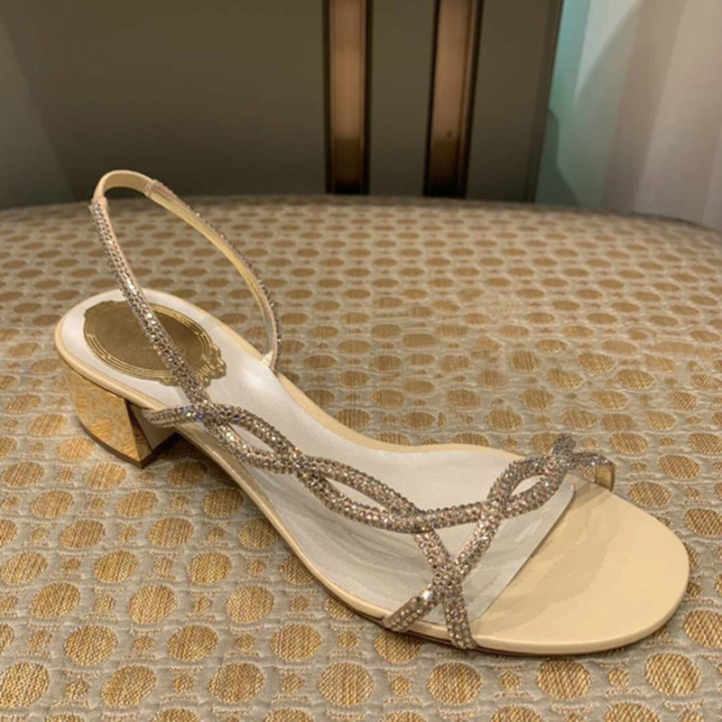 Gold Silver Color Woman Gladiator Hallow Out Women Sandals Med Heel Narrow Band Crystal Shoes Zapatos De Mujer Zapatillas MujerGold Silver Color Woman Gladiator Hallow Out Women Sandals Med Heel Narrow Band Crystal Shoes Zapatos De Mujer Zapatillas Mujer
