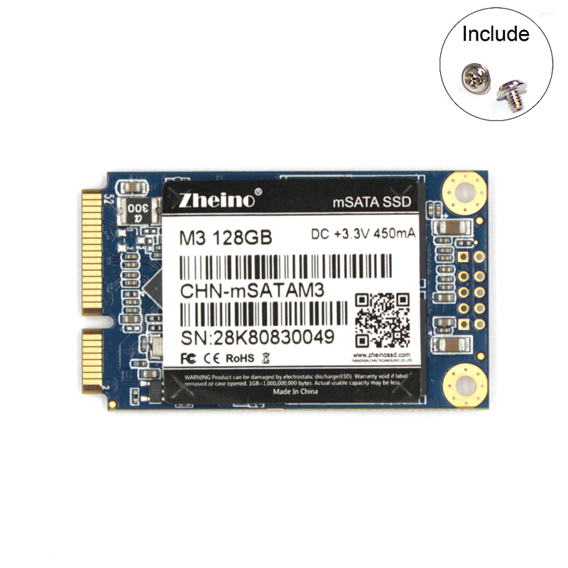Zheino ssd mSATA3 120 240 480 128 gb 256 gb SSD Interne Solid State Drive SATA3 Für Tabletten Laptop Notebook