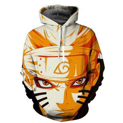 placeholder Naruto Hoodie Coat Sweatshirts Kakashi Akatsuki Sasuke O Brien 3D  Hoodies Pullovers Men Women Long 8a7d3f793