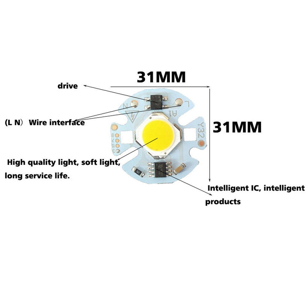 Led Cob Lamp Chip Led Light 3W 5W 7W 9W Led Bulb Light For GU10 MR16 E27 Led  Spotlight Projector 220V 110V No Need the Driver -in LED Bulbs & Tubes from  ...