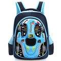 3D car-styling niños bolsos de escuela para los adolescentes varones niños coche de dibujos animados mochila 16 pulgadas libro bolsa de gran capacidad mochila escolar