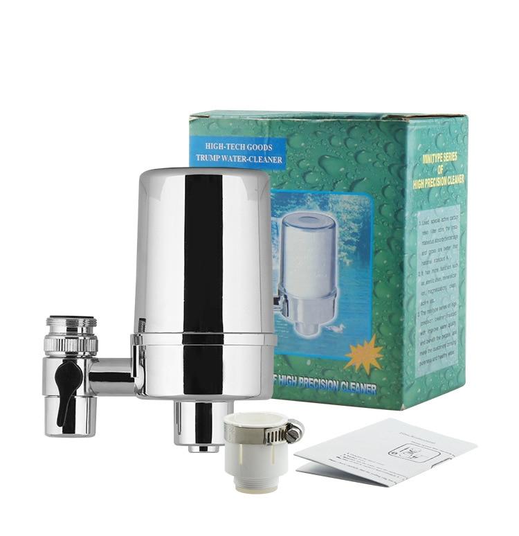 Бесплатная доставка очиститель воды/кран фильтр с серебряной переноски угольный фильтр для wippe от химических веществ и улучшить вкус