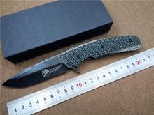 KESIWO KS014 D2 lame pliant tactique couteau G10 poignée qualité main extérieure outil EDC roulement à billes Flipper couteau de poche