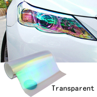 Chameleon Headlight Taillight Color-Changing FilmTransparent Tint Vinyl Wrap Sticker120X30cm Light Film Car Accessories