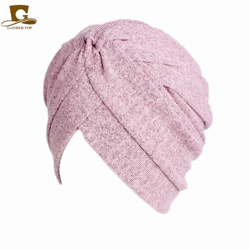 Frauen Baumwolle Motorhaube Kopfbedeckungen Turban Unbegrenzte 100% - Bekleidungszubehör - Foto 4