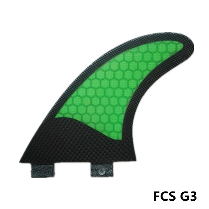 MOYLOR FCS G3 Surfboard-finne Tri Set Fiberglas Wabe Flache Folie Ruder Fin Surf Finnen Größe S Tri-set F