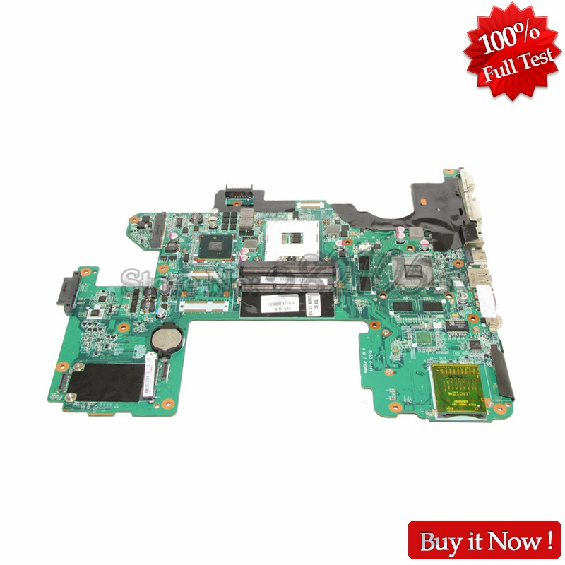 NOKOTION 573758-001 DAUT8AMB8D0 Notebook Main Board For HP Pavilion DV8 Laptop Motherboard PM55 DDR3 GT230M nokotion 645386 001 laptop motherboard for hp dv7 6000 notebook pc system board main board ddr3 socket fs1 with gpu