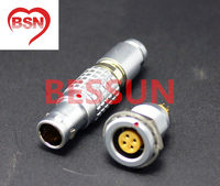 LEMO connector FGG/EGG.1B.304.CLAD,LEMO 1B 4 pin connector,Male and female connectors, instrument special connector