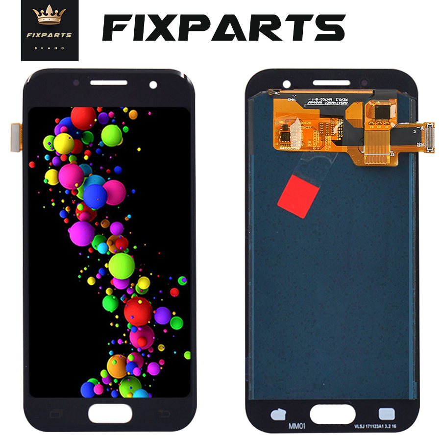 <font><b>A320</b></font> <font><b>LCD</b></font> For <font><b>SAMSUNG</b></font> GALAXY A3 2017 <font><b>LCD</b></font> <font><b>A320</b></font> A320F Display Touch Screen Digitizer Replacement For <font><b>Samsung</b></font> A3 2017 Display image
