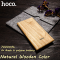 7000mAh ultra thin slim Power Bank nature wood LED indication for mobile phones, tablet PC light portable for outdoors/camping