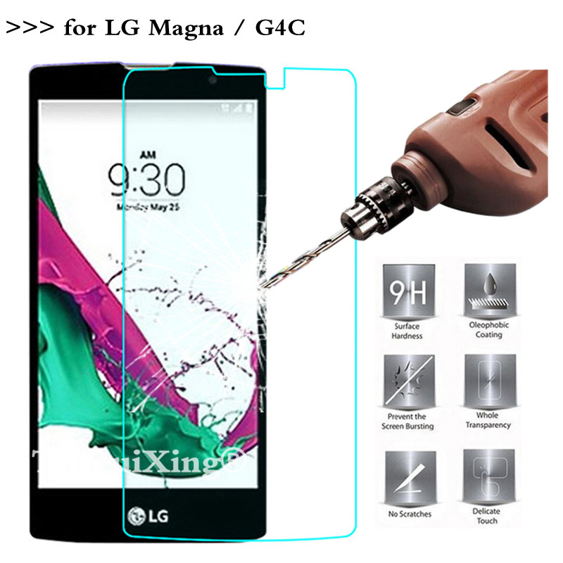 9H 2.5D 0.26mm Tempered Glass Screen Protector For LG Magna Protective Film For LG Magna G4c H502F H525N H500F H522Y 5.0 Inch