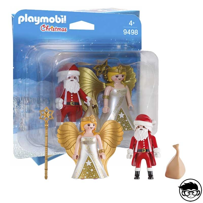 Playmobil 9498 - Father Christmas And Angel 2018
