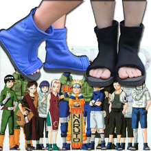 Здесь можно купить   Cool Naruto Konoha Ninja Village Black Blue Cosplay Shoes Sandals Boots Costumes Gift Costumes & Accessories