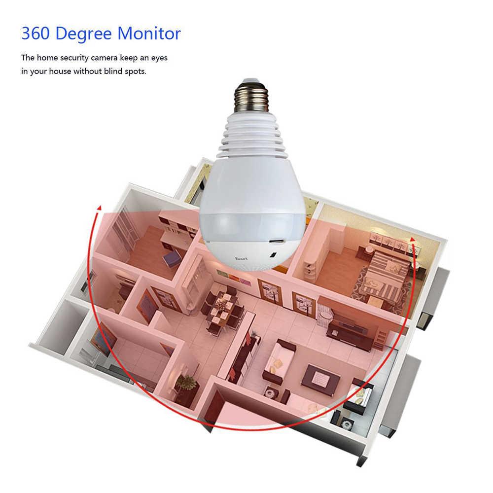 960 P 360 градусов Беспроводная ip-камера лампочка рыбий глаз умный дом CCTV 3D VR камера 1.3MP домашняя Wi-Fi камера системы безопасности панорамная