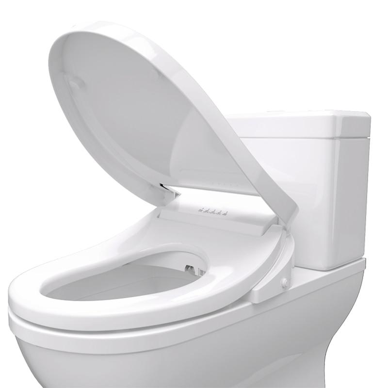 Brilliant Intelligent Toilet Seat Smart Bidet Heated Electric Bidet Cover Toilet Seat Led Light Wc Smart Toilet Seat Covers Machost Co Dining Chair Design Ideas Machostcouk