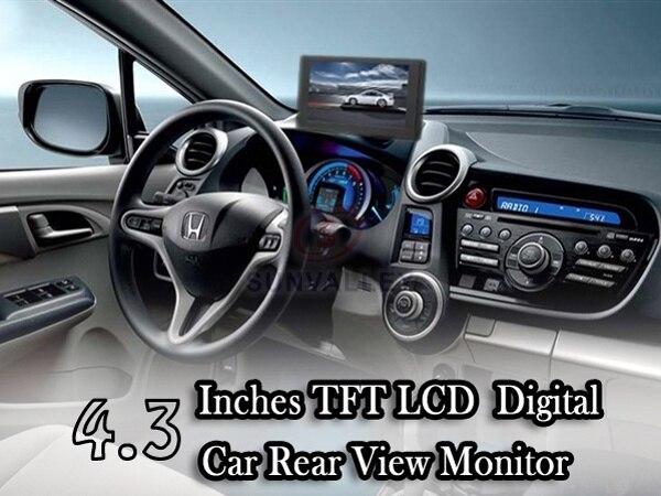 "HD 4.3"" TFT Car Monitor Color Digital TV LCD Screen Available for Car Rear View Backup Camera"