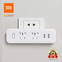 Xiaomi Original Power Socket Electric Outlet 2 Sockets For Connection To The Socket 2 USB Ports
