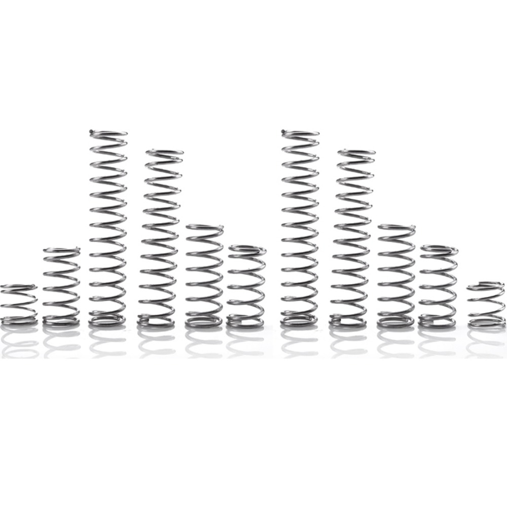 FUMAO горячая Распродажа, 1 шт., Высококачественная маленькая компрессионная пружина из нержавеющей стали 304 диаметром 0,4 мм|Пружины| | АлиЭкспресс
