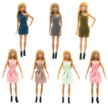 For Original Barbie Clothes 15styles Handmade Fashion Outfit Daily Casual Wear Blouse Dress Skirt 29cm Dolls Girls Accessories