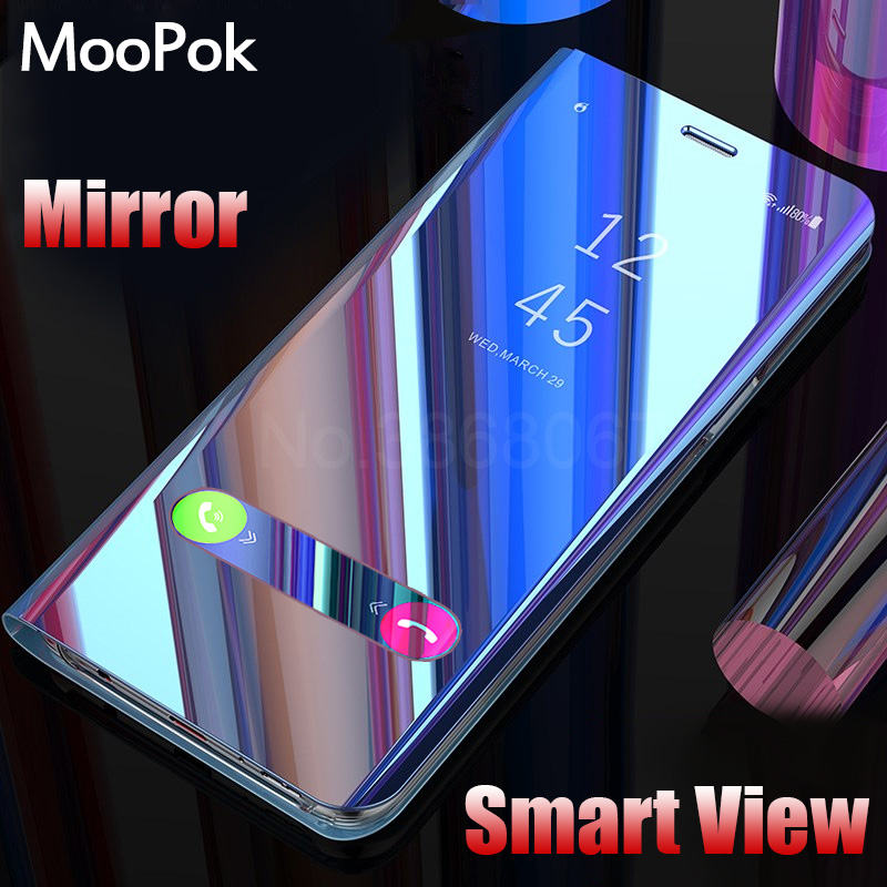MooPok Luxury Smart View Phone Case For Samsung Galaxy S9 S8 Plus Flip Stand Cover Cases For Samsung Galaxy S7...  samsung galaxy s7 case | Top 5 Best Samsung Galaxy S7 Cases MooPok Luxury Smart View Phone font b Case b font For font b Samsung b font
