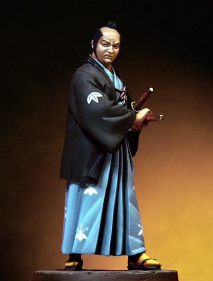 Scale Models 1/32 54mm Samurai, Late Muromachi Period  54mm   Figure Historical  Resin Model