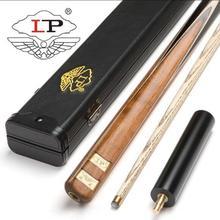 New Excellent Handmade LP 3/4 Piece Snooker Cue Kit with Case Extension 10mm Tip stick Billiard Stick 2019