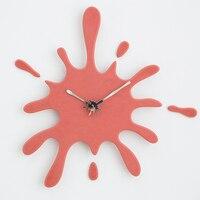 Оптовая продажа Mandelda современные креативные бесшумные Часы настенные деревянные японские Suzuki движение батарея работает, акриловые иглы