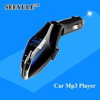 1pc SEEYULE Eagle Olecranon Style Car Mp3 Player Car FM Transmitter Modulator Music Audio With USB