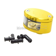 цена на Universal Motorcycle Brake Fluid Reservoir Clutch Tank Oil Fluid Cup Reservoir Cup For Honda Yamaha Ducati Suzuki Kawasaki