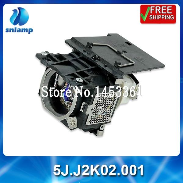 100% original projector lamp bulb 5J.J2K02.001 for W500