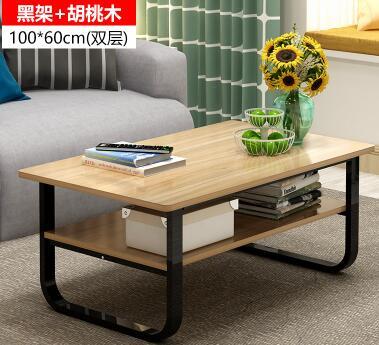 100*60 см современный деревянный стол ноутбук дважды Слои Многофункциональный прикроватной тумбочке Гостиная Чай стол складной Тетрадь комп...