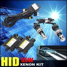 1set H4-3 H4 Bixenon xenon kit hid hi lo beam Slim Ballast 55W 4300K 6000K 8000K 10000K 12000K Replacement Headlamp Lighting