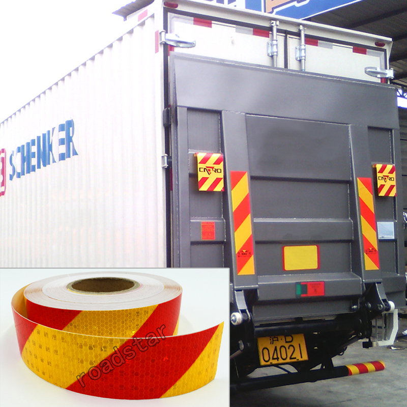 Купить с кэшбэком 5cmx30m  Reflective Sticker for Car-Styling Safety Warning Conspicuity Reflective Tape
