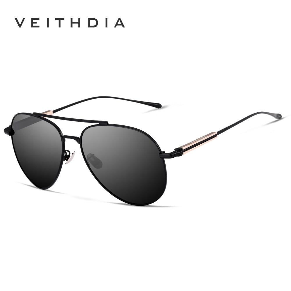 VEITHDIA Brand Designer Mens Polarized Lens Sun Glasses Oculos masculino Male Sunglasses For Men Eyewears Accessories VT6696