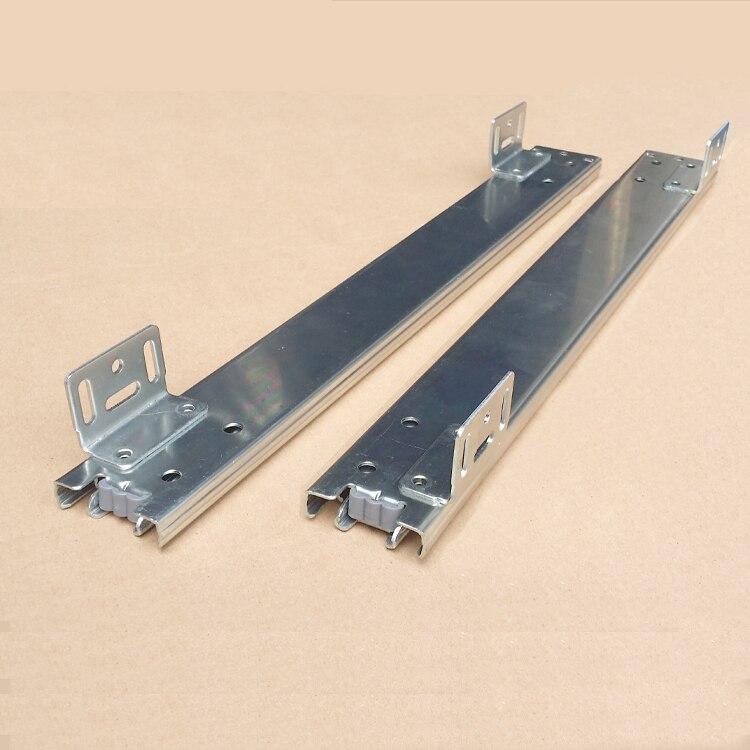 Livraison gratuite en sourdine diapositives Assaisonnement panier cuisine tiroir meubles piste hardware cabinet panier tiroir rail support